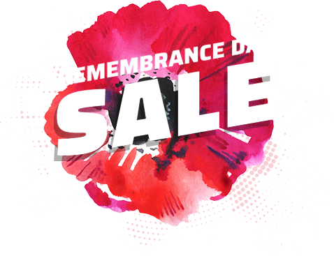 REMEMBRANCE DAY SALE
