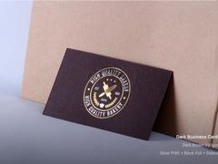 black-business-cards