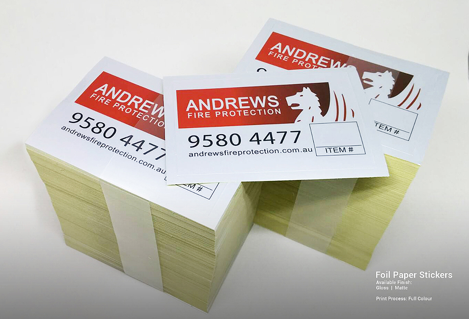 e4f8d465d39 Custom Products Portfolio | Printed stickers, labels, decals, business cards,  and postcards for our prestigious clients. | OzStickerPrinting