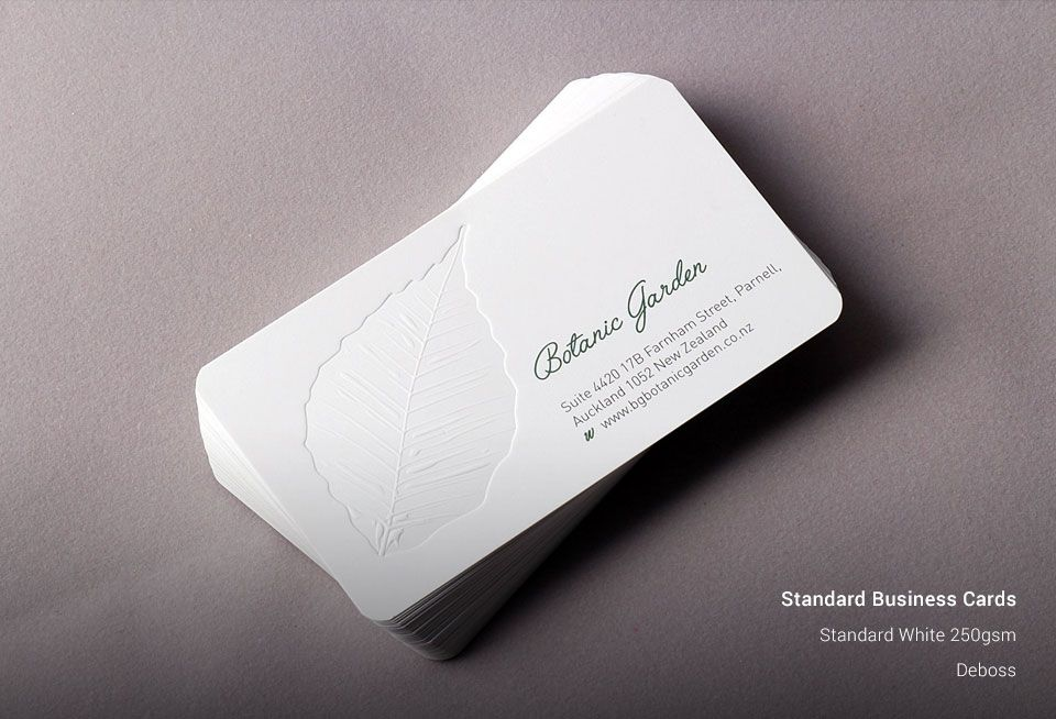 High Quality Standard Business Cards | Business Card Printing ...