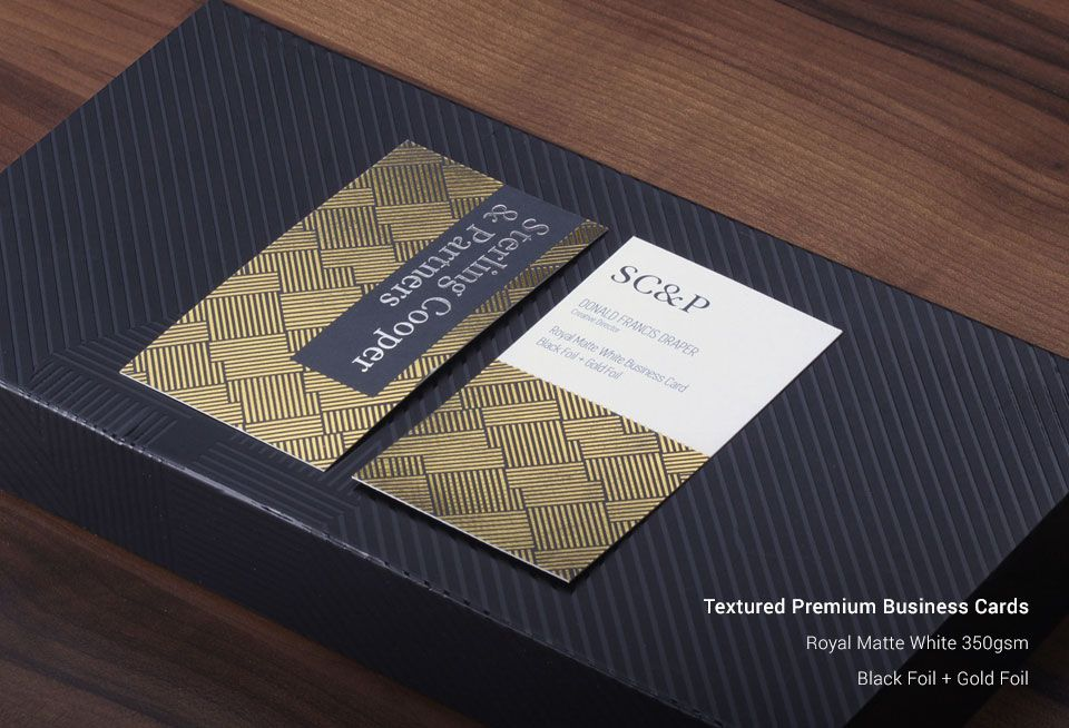 Textured Business Cards | Australia Business Card Printing Services ...