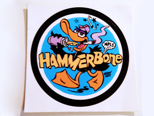 Great Hammerbonecaps Custom Stickers