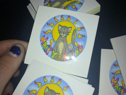 Stickers Arrived!!