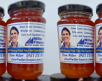 Branding with Sticker Label is the Way to Miller Finance Customers' Heart